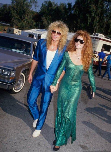 David Coverdale & Tawny Kitaen (1987)