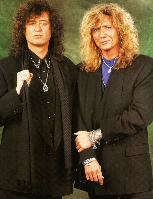 David Coverdale & Jimmy Page (1993)