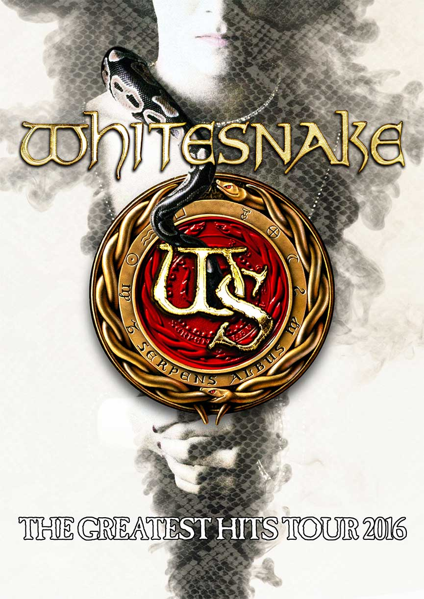 Whitesnake The Greatest Hits Tour 2016