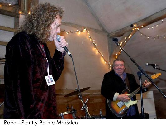 Bernie Marsden & Robert Plant