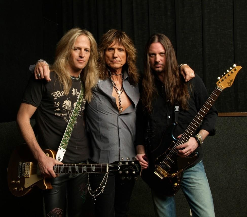 Doug Aldrich, David Coverdale & Reb Beach (2013)