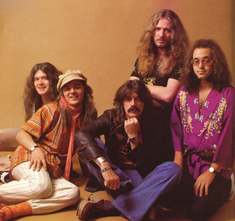 Glenn Hughes, Tommy Bolin, Jon Lord, David Coverdale & Ian Paice