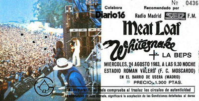 whitesnake 1983 entrada