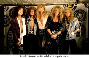 Whitesnake recién salidos de la peluqería