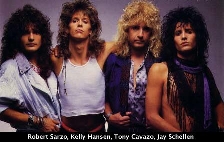 Hurricane: Robert Sarzo, Kelly Hansen, Tony Cavazo, Jay Schellen