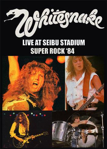 Whitesnake Súper Rock 1984