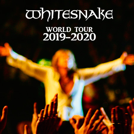 Whitesnake - World Tour 2019-2020