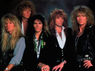 Whitesnake (1989) – Adrian Vandenberg, Tommy Aldridge, Steve Vai, Rudy Sarzo & David Coverdale