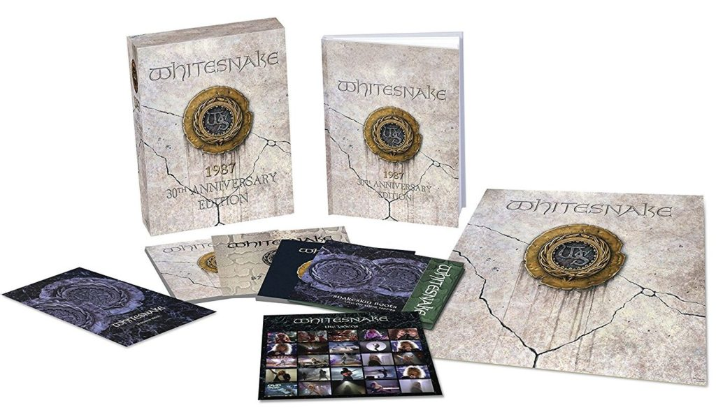 Reedición del disco de whitesnake 1987 (30 aniversario)