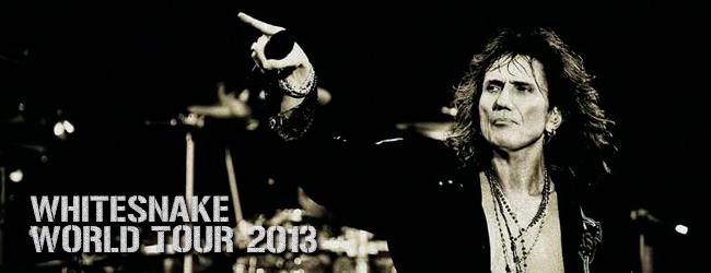 whitesnake gira 2013
