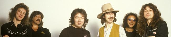 Whitesnake 1980: Neil Murray, Jon Lord, Bernie Marsden, Micky Moody, Ian Paice & David Coverdale (1981)