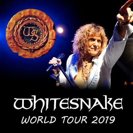 Whitesnake - World Tour 2019