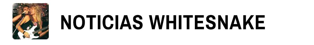Whitesnake Noticias